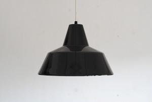 Louis Poulsen Enamel Pendant Lamp Black