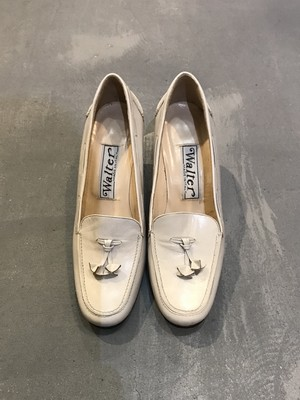 Walter Tassel Heel Loafer / Made in Italy [S-406]
