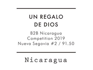 【Special 100g】Nicaragua B2B 2位 / UN REGALO DE DIOS