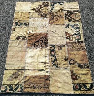 トルコ絨毯パッチワークラグ TEBR0188P 2430×1700