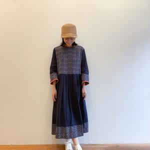 C-71114 Gauze Embroidery Dress