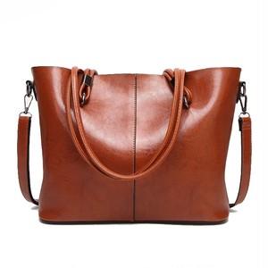Large Capacity Tote Bag Leather Handbag Vintage Shoulder Bag Messenger Bag (HF99-4969078)
