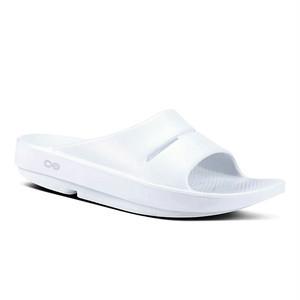 5020021  ウーフォス OOFOS OOahh Luxe - 01 White 23cm  24cm 25cm 人気