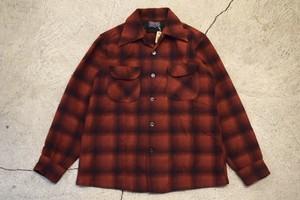 USED 60s Pendleton Board Shirt -Medium S0751