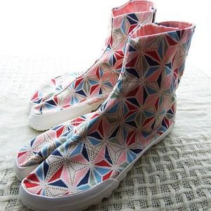 レディースファッション地下足袋 和柄足袋 #5