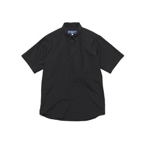 BROAD SHORT SLEEVE SHIRT - BLACK