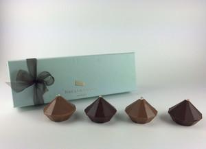 夏のムースショコラ 4種類(メロン、ライム、アプリコット、ミント)