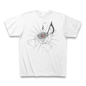 送料無料 平和な音楽(NO WAR)オリジナル メンズTシャツ