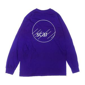 scar /////// CIRCLE L/S TEE (Purple)