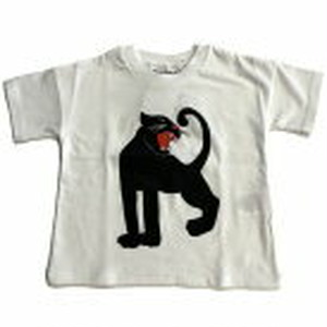 2019ss collection 【新商品】 minirodini ( ミニロディーニ ) - Panther ss tee【offwhite】
