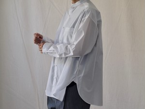【MANON】BAND COLLAR CLASSIC SHIRT