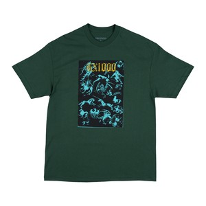GX1000 FORCED ENTRY TEE FOREST GREEN