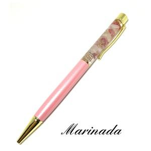 オルゴナイトボールペン♡ピンク♡ハートを開き女性らしさを高める♡