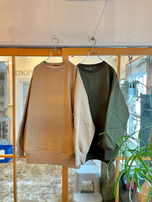roundabout / L/S Crew Neck Pullover