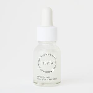 【リニューアル中!】HEPTA  FINAL AGING-CARE SERUM 15mL【入荷お待ちください】