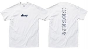 【先行受注生産】newロゴTシャツ (ホワイト)