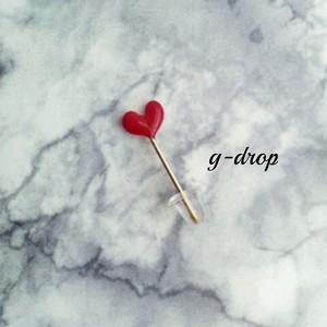 k14gf [* love♡ *]  アート 片耳 プチピアス