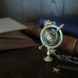 【ネックレス】天球儀『星たちの軌跡』
