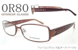 GIVENCHY 眼鏡 ジバンシー vgv341m R80 女性用 レディース メガネ
