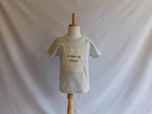 【ZEKKEN】Tシャツ 杢グレー