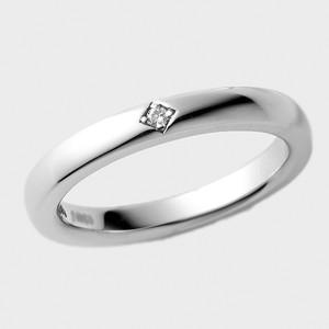 PORTADA BABY RING LYS(LADY'S MODEL)SV925(ポルターダベビーリング リュース シルバー925 ダイヤモンド)