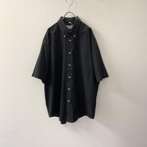 MILFORD CLAN ボタンダウンシャツ ブラック size 41/42 メンズ 古着