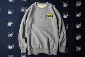HELLO CREW SWEAT (BLACKxYEL)