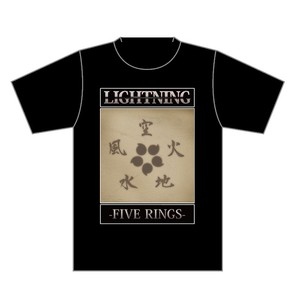 LIGHTNING◆FIVE RINGS Tシャツ