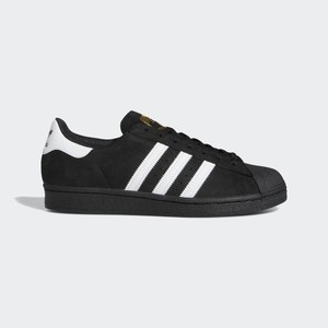 adidas SUPERSTAR BLACK/WHITE/GOLD