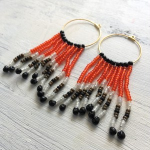 Hoop  Pierce/Earrings  -Jellyfish-