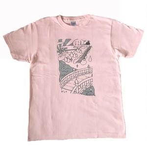 ヨクキタネTシャツ / ピンク