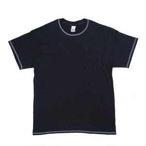 Cover Stitch Pocket T-Shirt (カバーステッチポケットTシャツ)