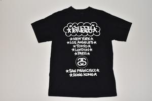 Stussy×Eric Haze World Tour Tee