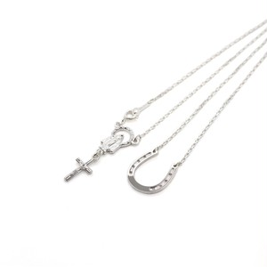 -SILVER925- Horseshoe Necklace