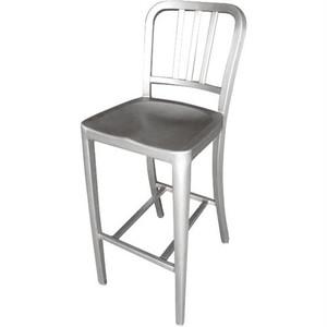 【ALC802C】Aluminum bar stool #スタンダードバーチェア #屋外 #インダストリアル