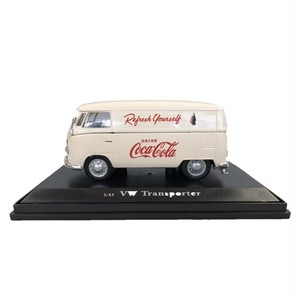 Coca-Cola Miniature Car 1962 VW Cargo Van Cream 1/43スケール