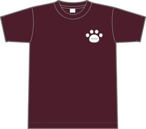 neko T-Shirt【マルーン】