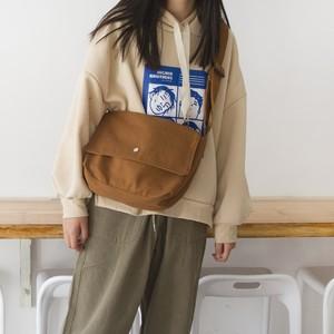 【バッグ】日系無地シンプル清新合わせやすいエコバッグ