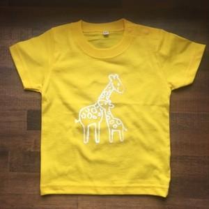 rire オリジナルTシャツ キリン