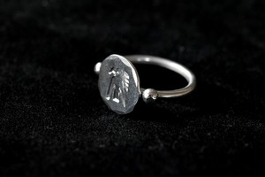Luck thunderbird wire ring