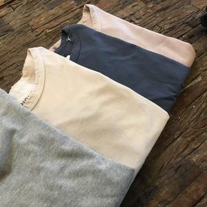 2枚組/国産コットン100% 長袖Tシャツ <Size:40> ~FABRIQUE en planete terre~