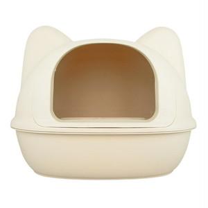 ネコ型トイレット アイボリー