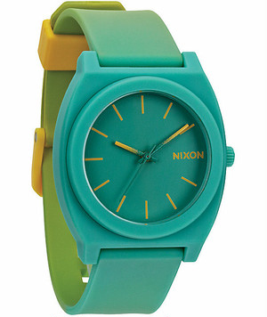 NIXON ニクソン THE TIME TELLER P YELLOW / TEAL FADE