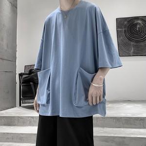ビッグポケットTシャツ BL6070