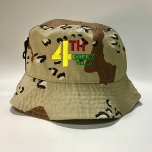 4THCoast Yella  Bucket Hat (Dessert Camo)
