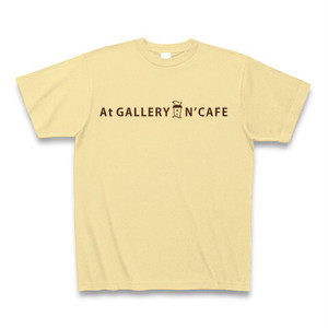 At GALLERY N'CAFE オリジナルTシャツ(ナチュラル)