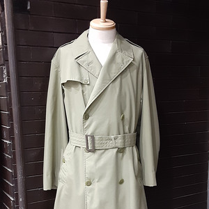 1968 French Military Officer Trench Coat 1968年製 フランス軍 士官用 トレンチコート