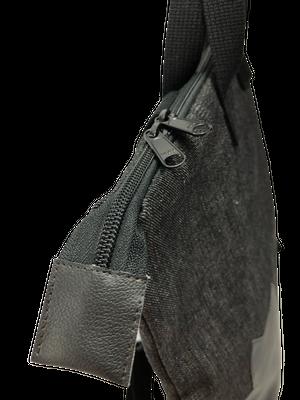 黒猫トートリュック【デニム×レザー】