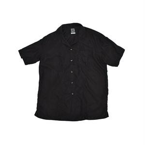 BEST PACK Open Collar S/S Shirt Black BP19S-SH02