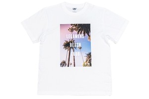 【graphic palm tree T-shirt】